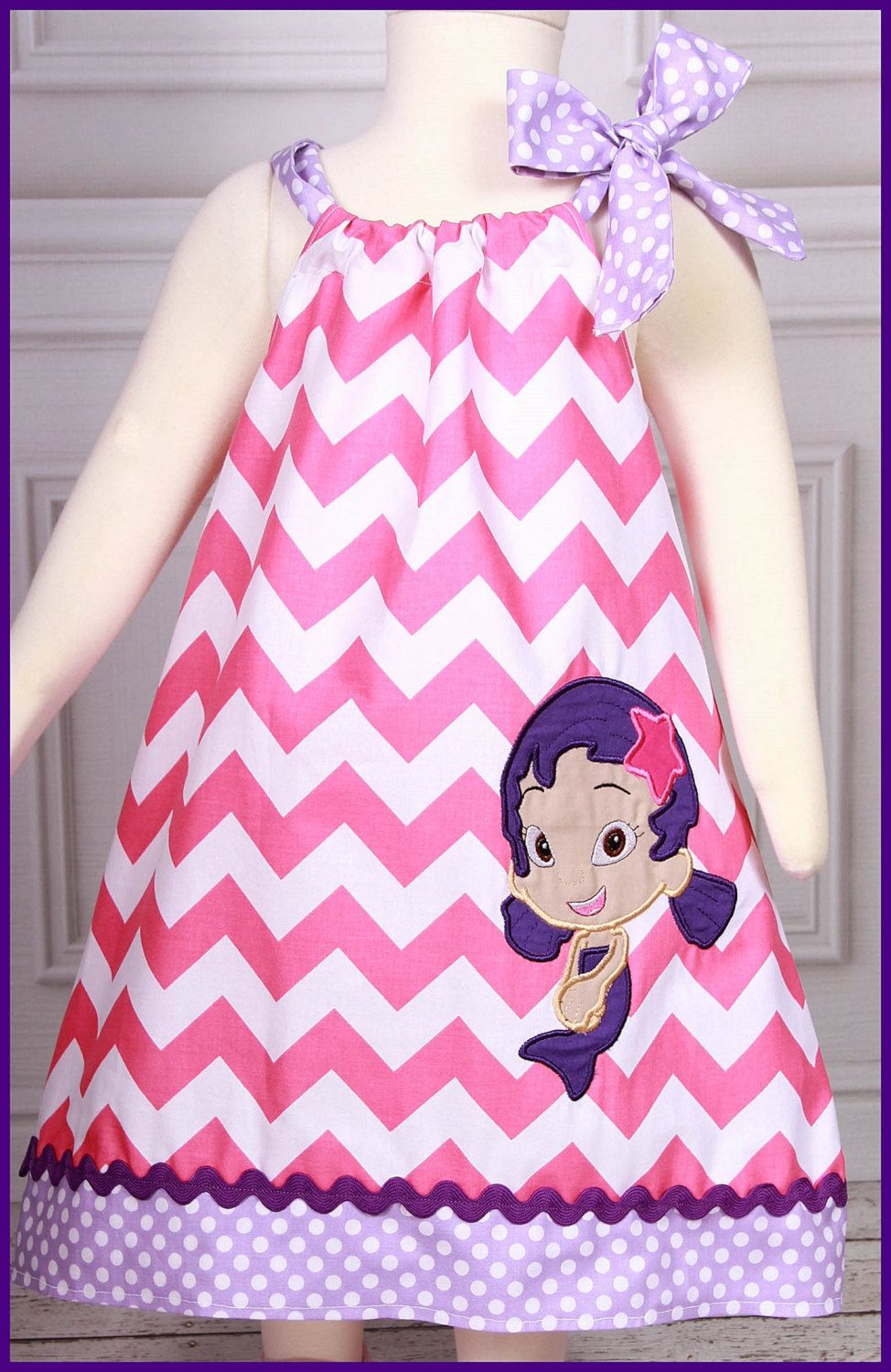 NEW Oona Bubble Guppies applique dress by LilBitofWhimsyCoutur ...