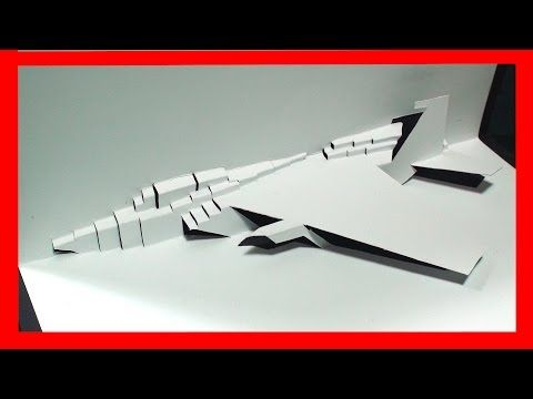 F 15 Fighter Jet Pop Up Card Free Template Kirigami Hd Pop Up Card Templates Kirigami Kirigami Templates