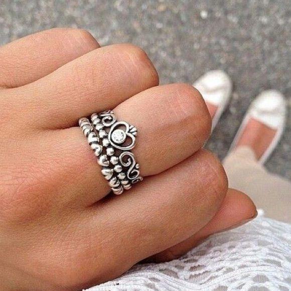 New Authentic Pandora My Princess Ring Size 6 925
