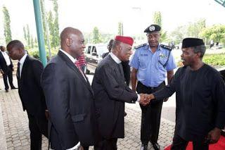 nodullnaija: Yemi Osinbajo Departs Abuja For Maiduguri