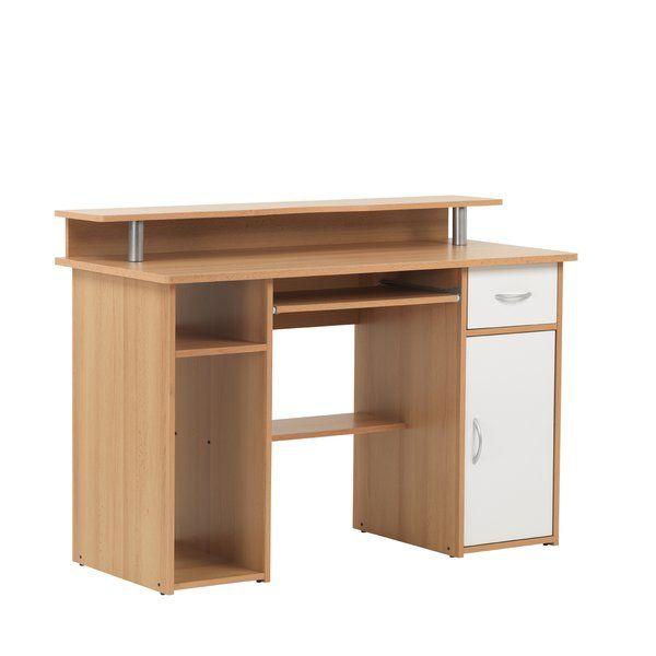 Maxam Computer Desk in 2020 | Desk, Very small bedroom ...
