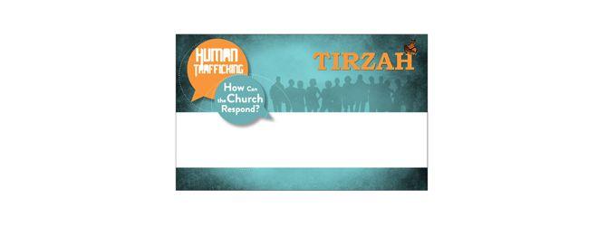tirzah conference name badge template design avizadesign com