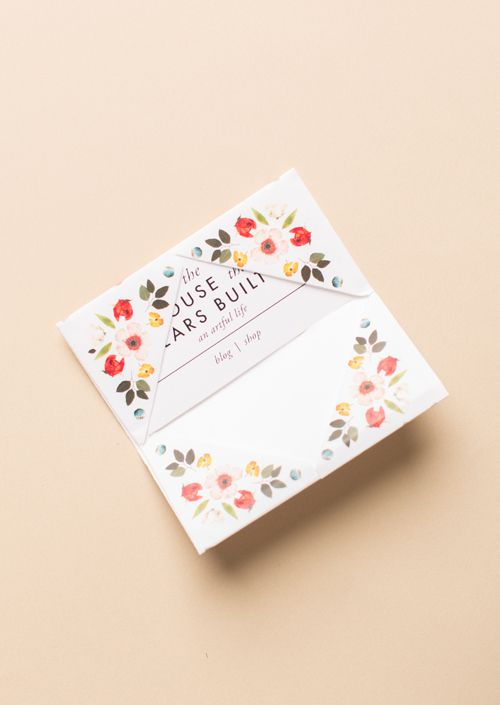 Print Make Origami Business Card Holder Diy Alles Aus Papier