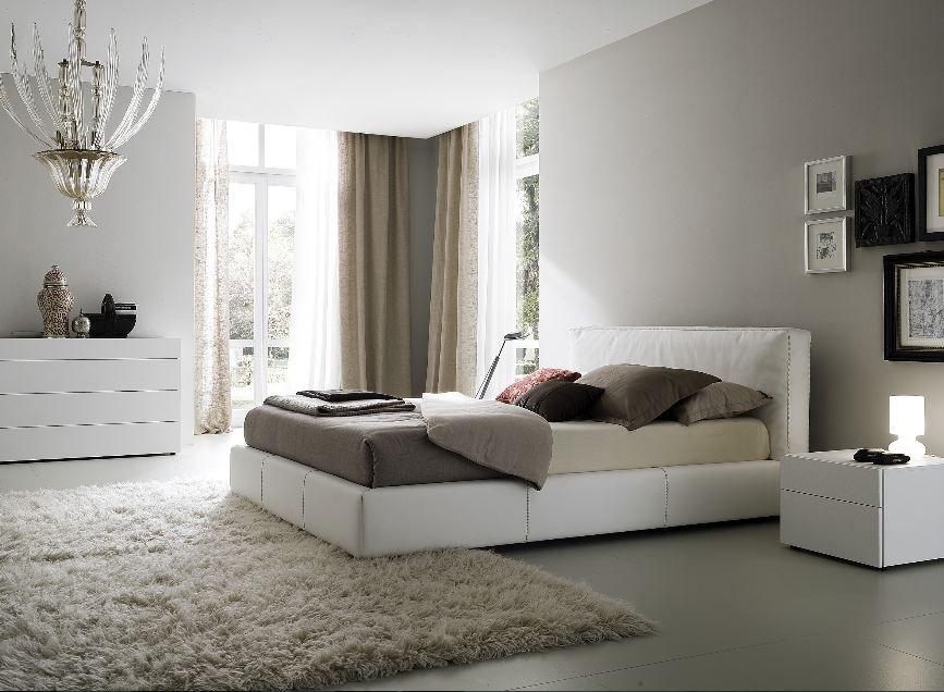 Perfekt Schlafzimmer Grau Hellgraue Wandfarbe