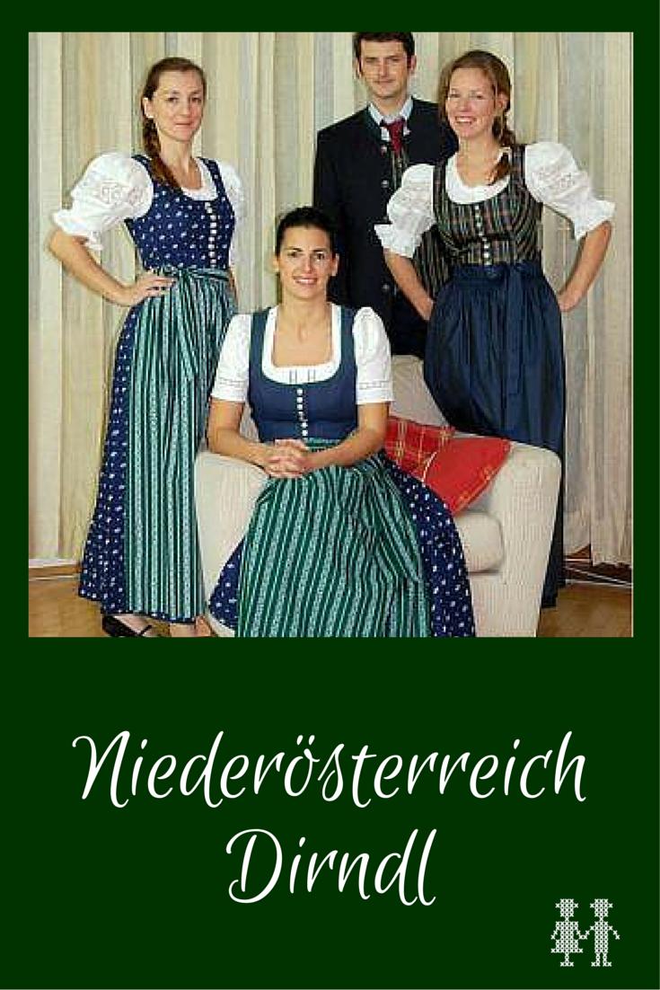 e734f430a6af6f Niederösterreich hat als eines von zwei Bundesländern ein offizielles  Landesdirndl. Und das gibt es gleich in 3 Ausführungen!