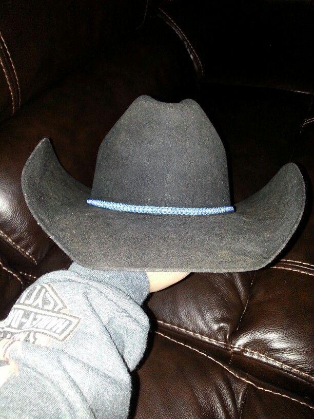 Cowboy Hat Band From Paracord Cowboy Hat Band Cowboy Hats Hats