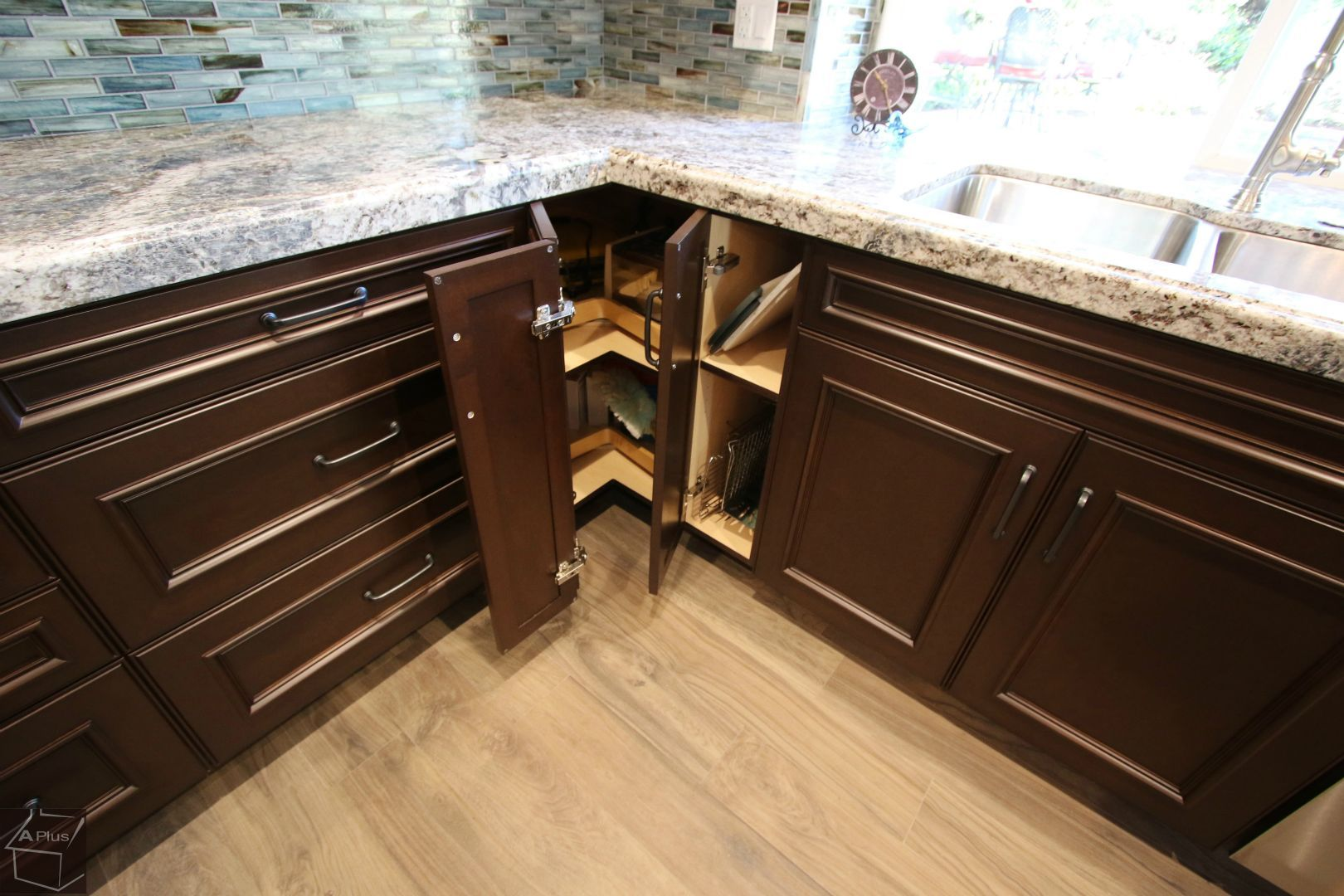 Design Build Traditional #Kitchen #Remodel with APlus #Cabinets in city of Laguna Hills Orange County