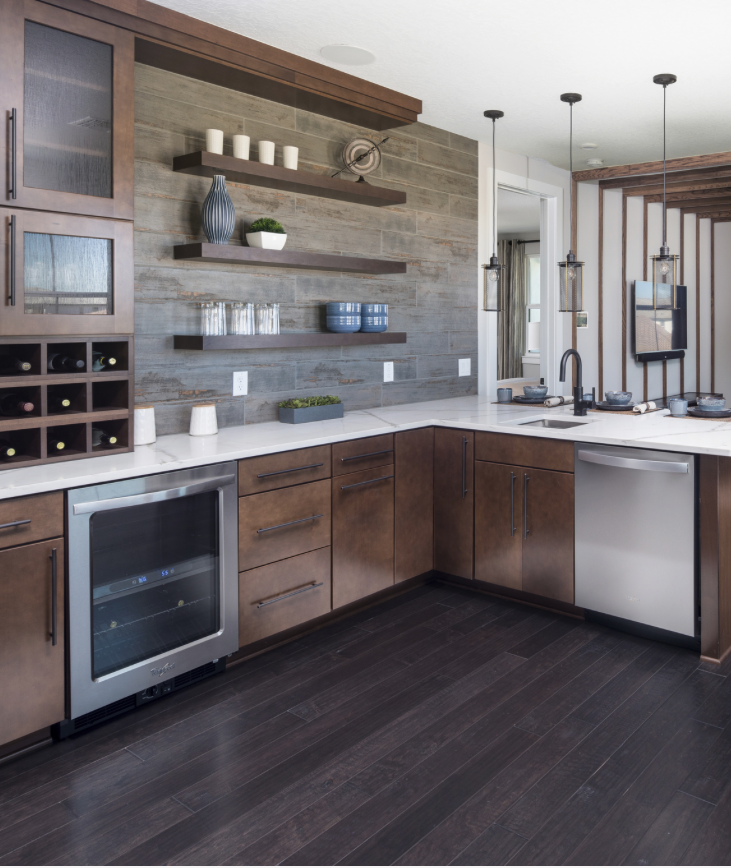 Kitchen Design Questions: Home Tour Series: Dining & Room Kitchen Layout Design