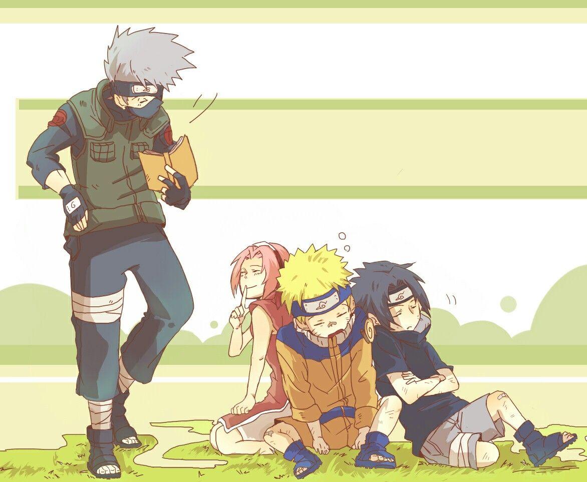Pin de Scarlette 840 em Equipo 7   Sakura e sasuke, Naruto ...