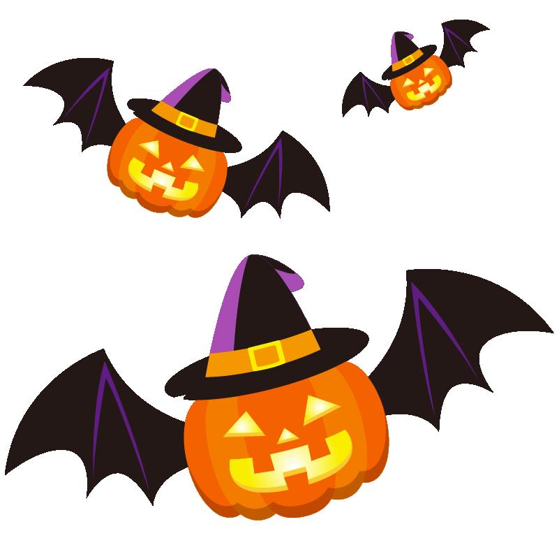 商用フリーイラスト 無料 10月 ハロウィンかぼちゃ ランタン コウモリ2 Halloween 商用ok フリー素材集 ナイスなイラスト ハロウィン かぼちゃ ランタン イラスト ハロウィン かぼちゃ