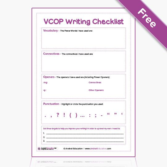 vcop resources free