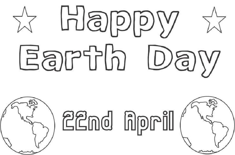 earth day coloring pages image