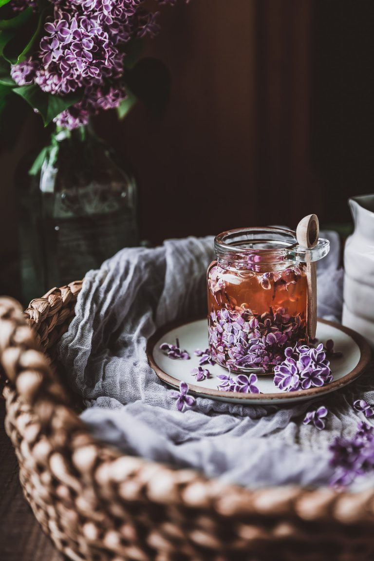 Lilac Honey Infusion Recipe Food Food Photography Lilac