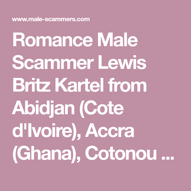 cotonou benin dating svindel