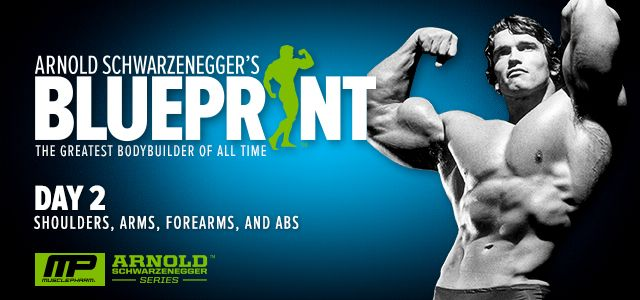 Captivating Bodybuilding.com   Arnold Schwarzenegger Blueprint Trainer Day 2