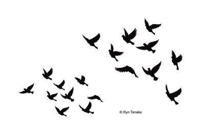 Silhouette Dove Set | Stamps and Supplies locations | Dove
