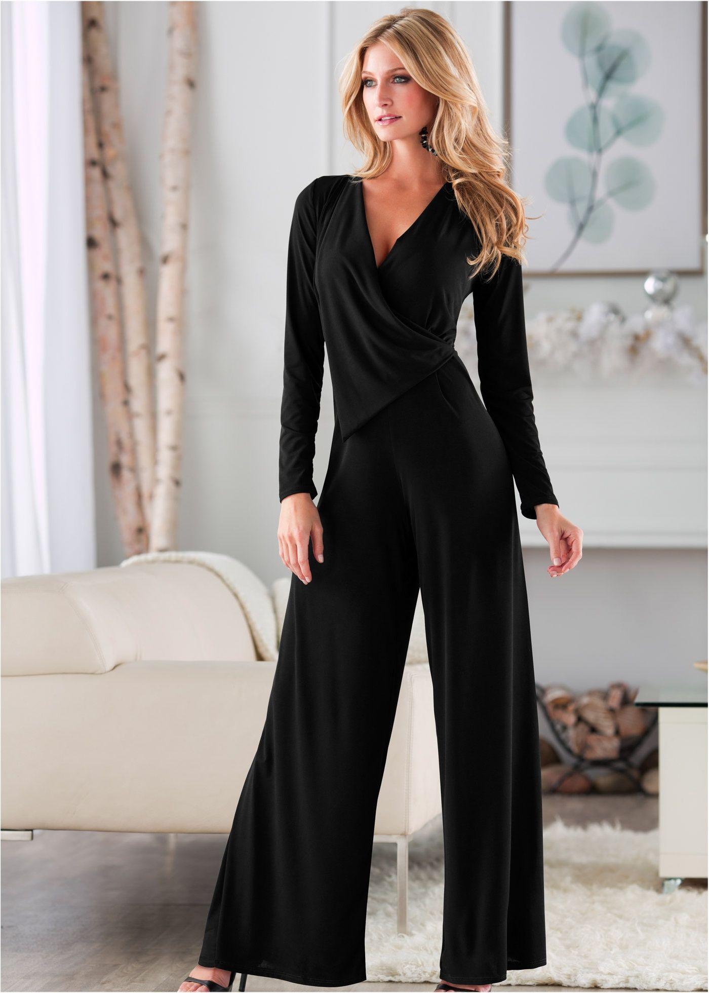 5ad9b9eef Macacão pantalona preto encomendar agora na loja on-line bonprix.de R$  99,90 a partir de Macacão manga longa. Seguir as instruções de lavação que  estão na .