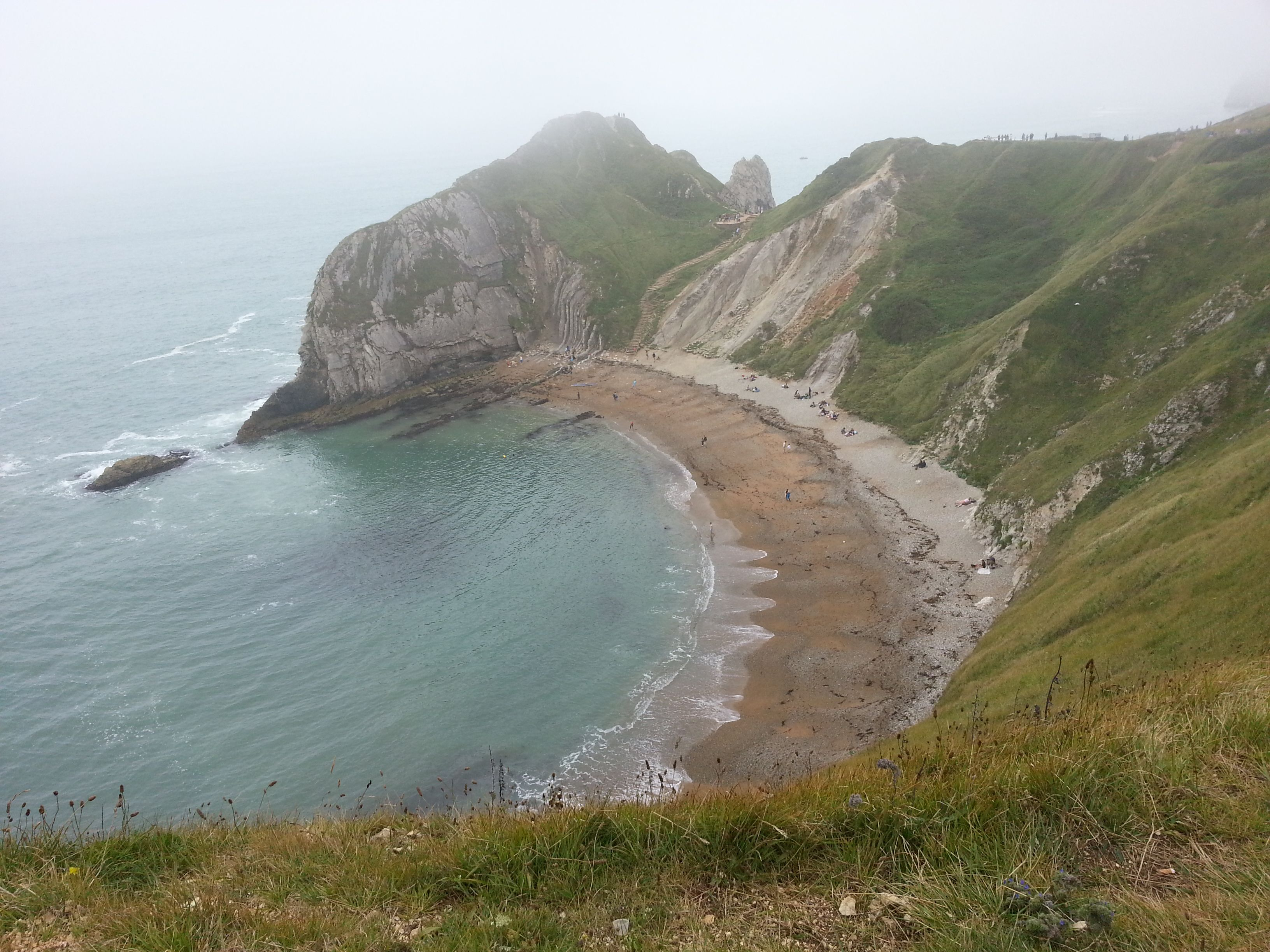 Durdle Door, Lulworth Cove, Dorset, UK, Aug 2012