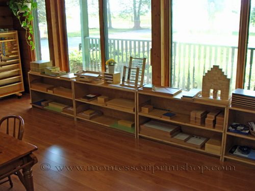Primary Montessori Math Area - 2