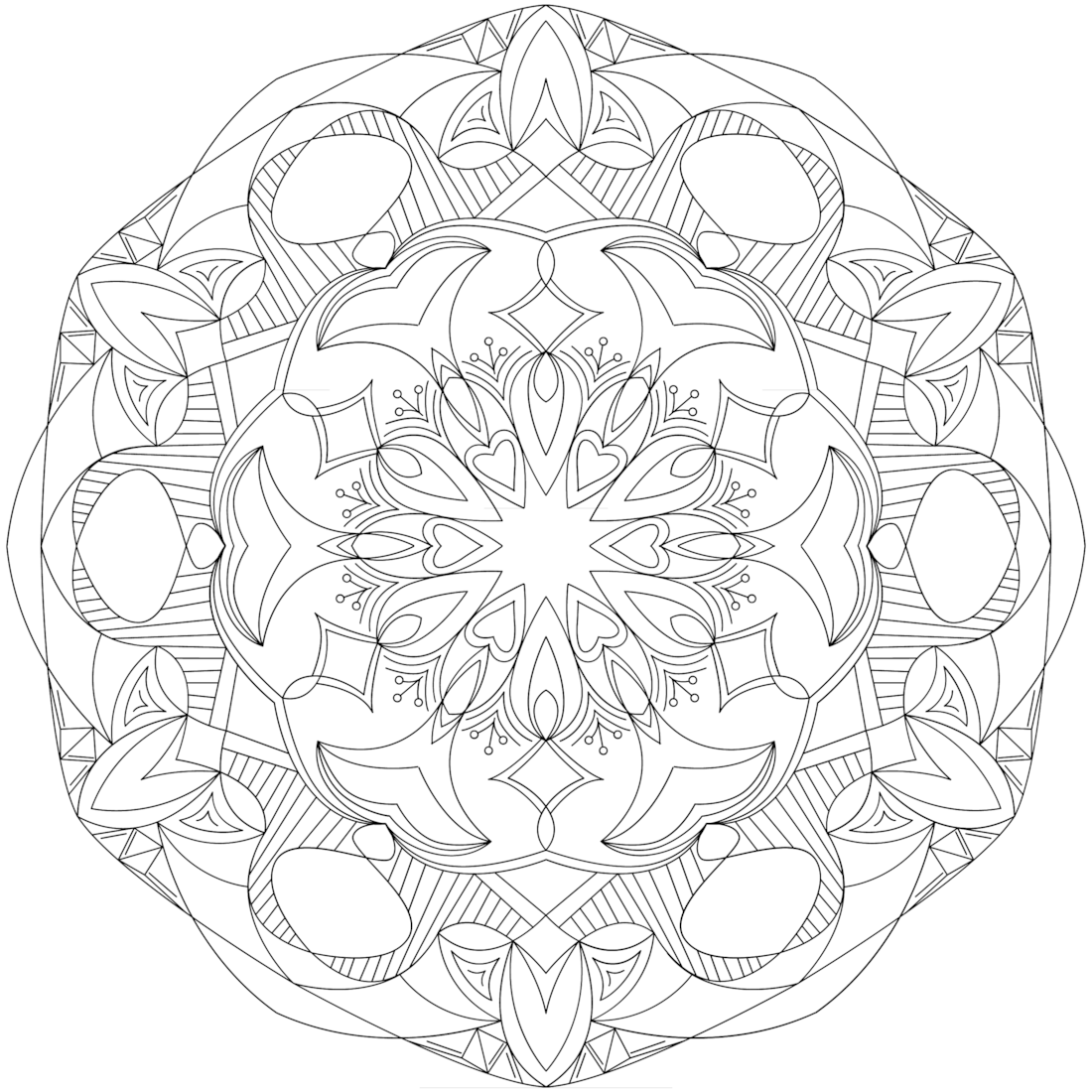 Rolling Tide - a free printable coloring page. One of 100+! https ...