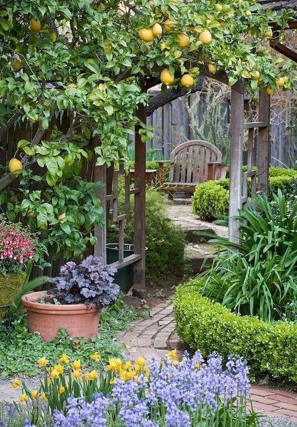 awesome 95 small cottage garden design ideas source link on awesome backyard garden landscaping ideas that looks amazing id=57751
