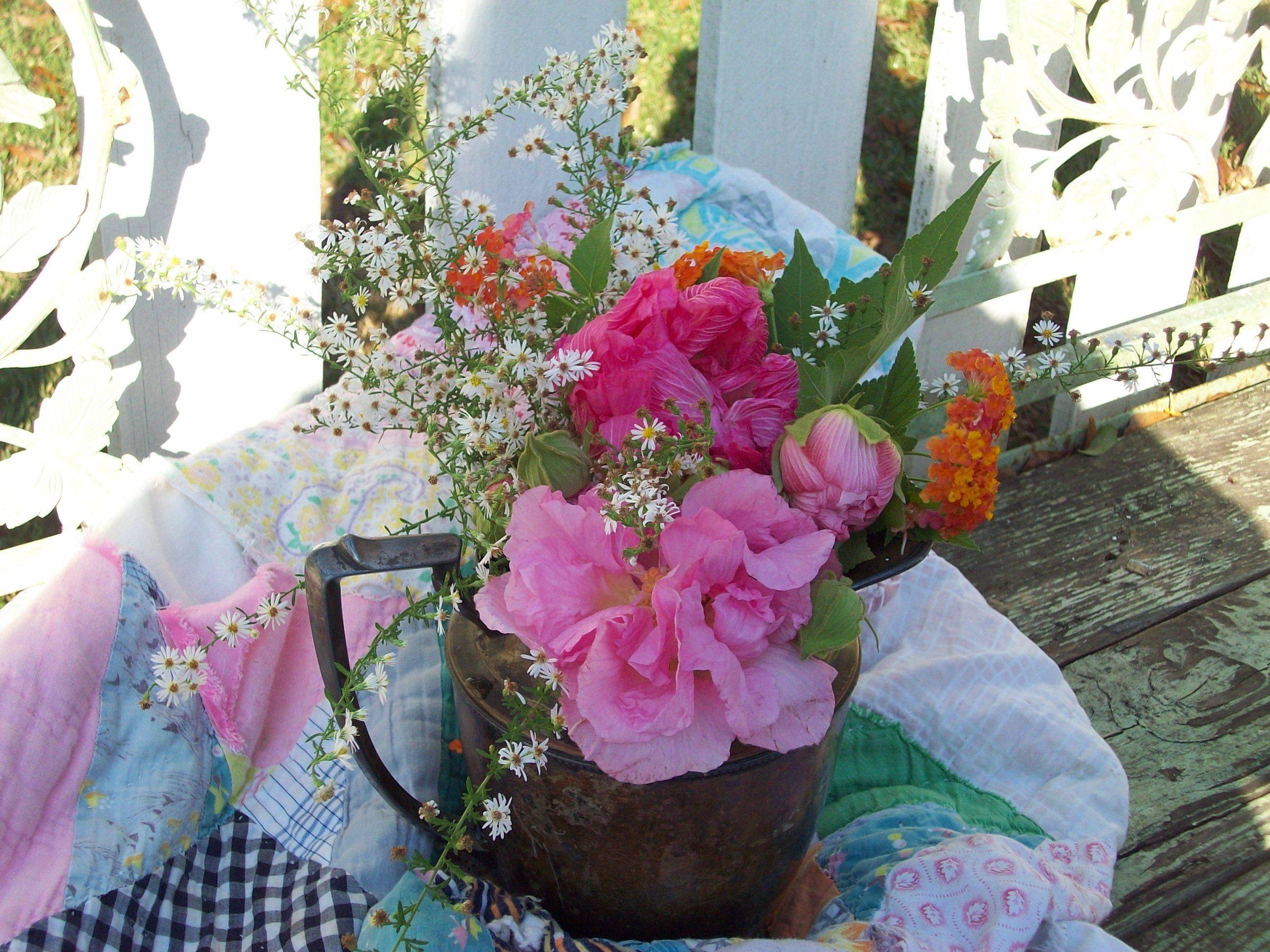 Pretty Flowers by Kat Crane