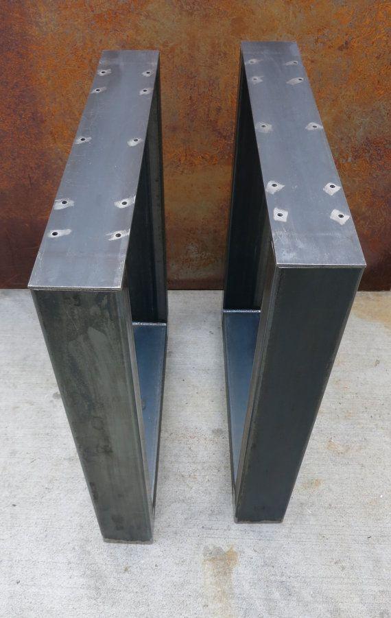 Espesor Industrial U forma Metal patas 4 x 2 por SteelImpression