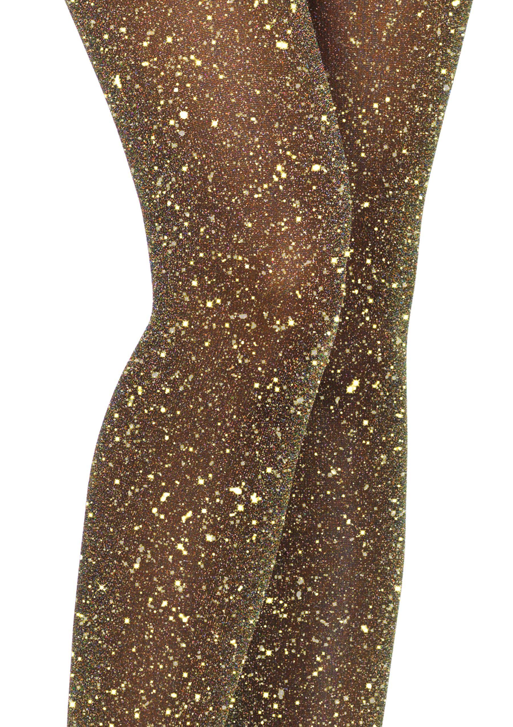 3aaa74742bab2 Leg Avenue Womens Lurex Shimmer Tights, Black/Gold #affiliate #glitter # leggings
