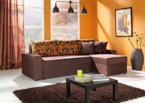 Como Crear Acogedoras Salas Modernas Color Chocolate Salon Naranja Decoracion De Sofa Marron Salas De Estar Relajantes