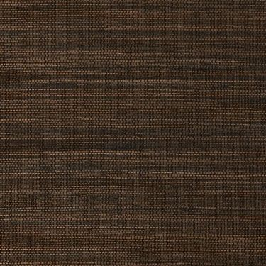 Shiny dark brown woven sustainable grasscloth home