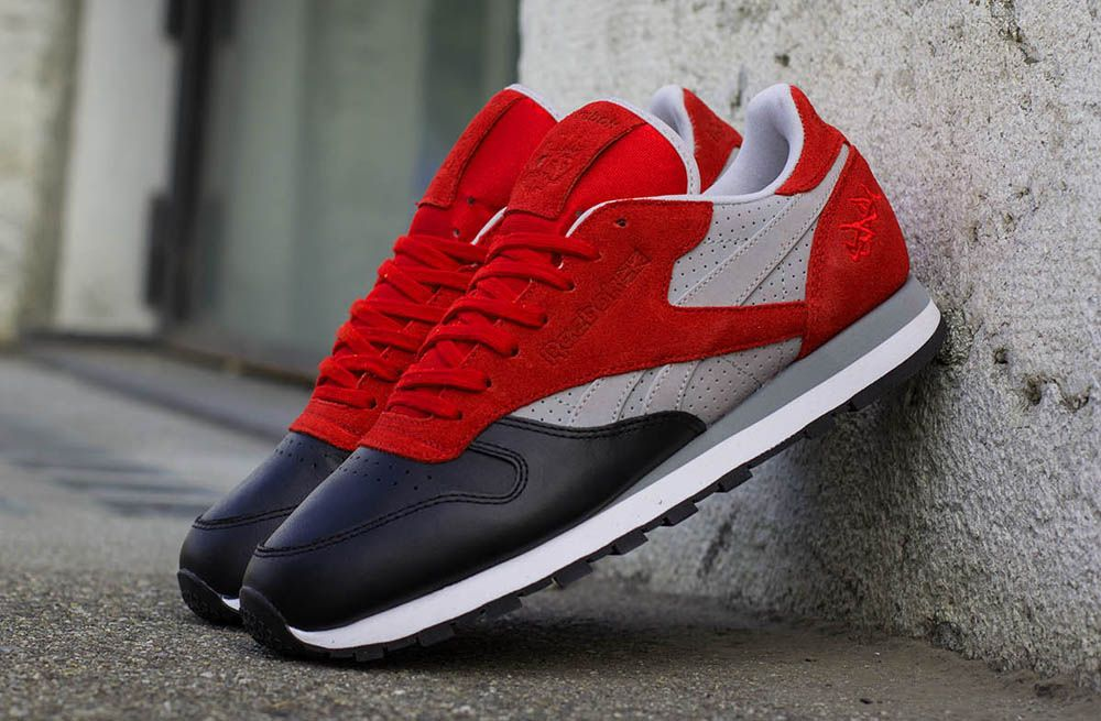 Stash x Reebok Classic Leather   Sneakers, Shoes sneakers