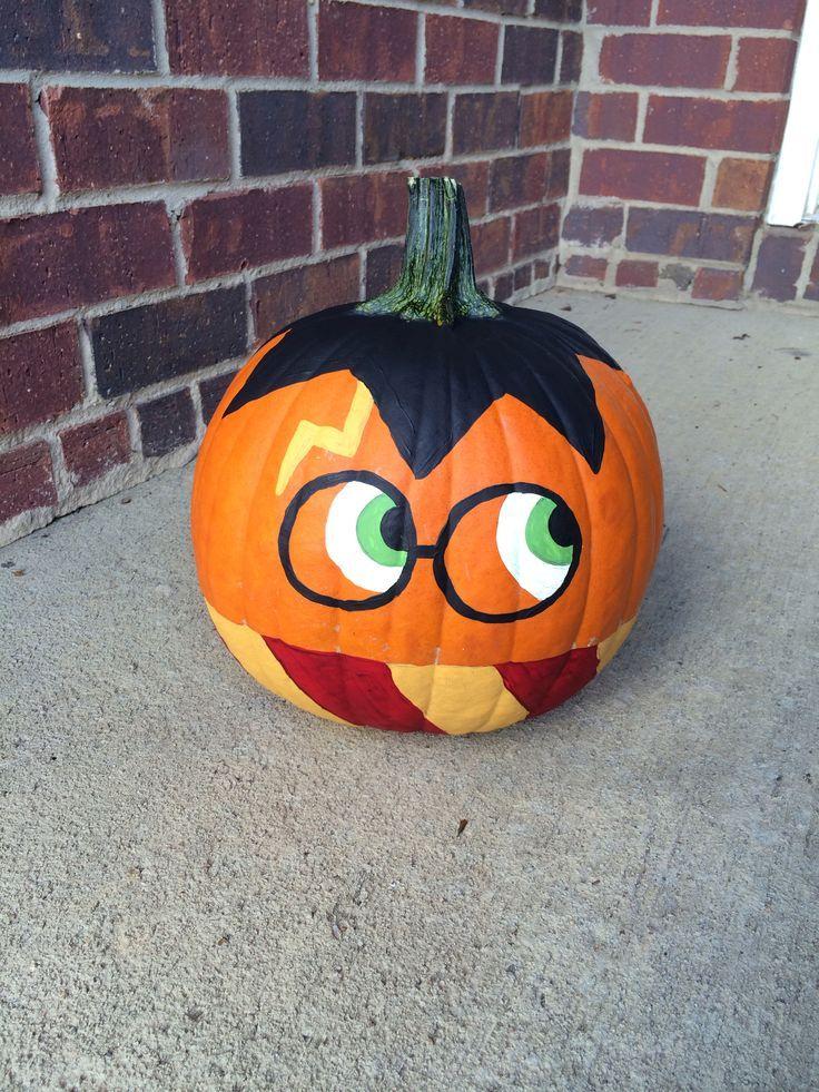 Harry Potter pumpkins for Halloween Halloween pumpkins