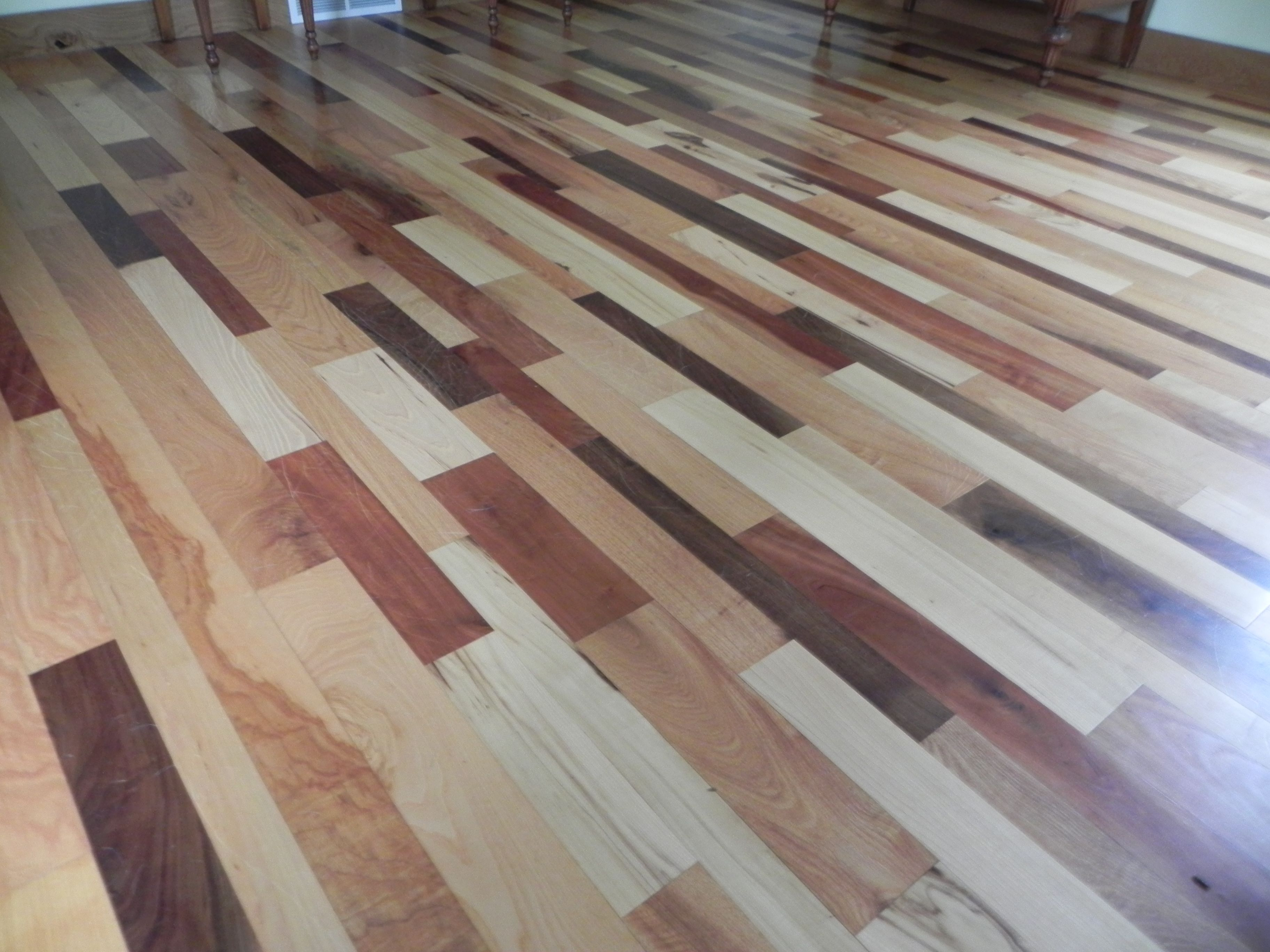 Add A Unique Touch To Your Home: This High Quality Hardwood Flooring Will Add A Unique