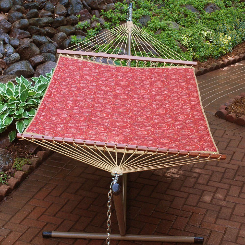 Have to have it. Algoma Enterprise Colonial Quilted Fabric Hammock $149.98