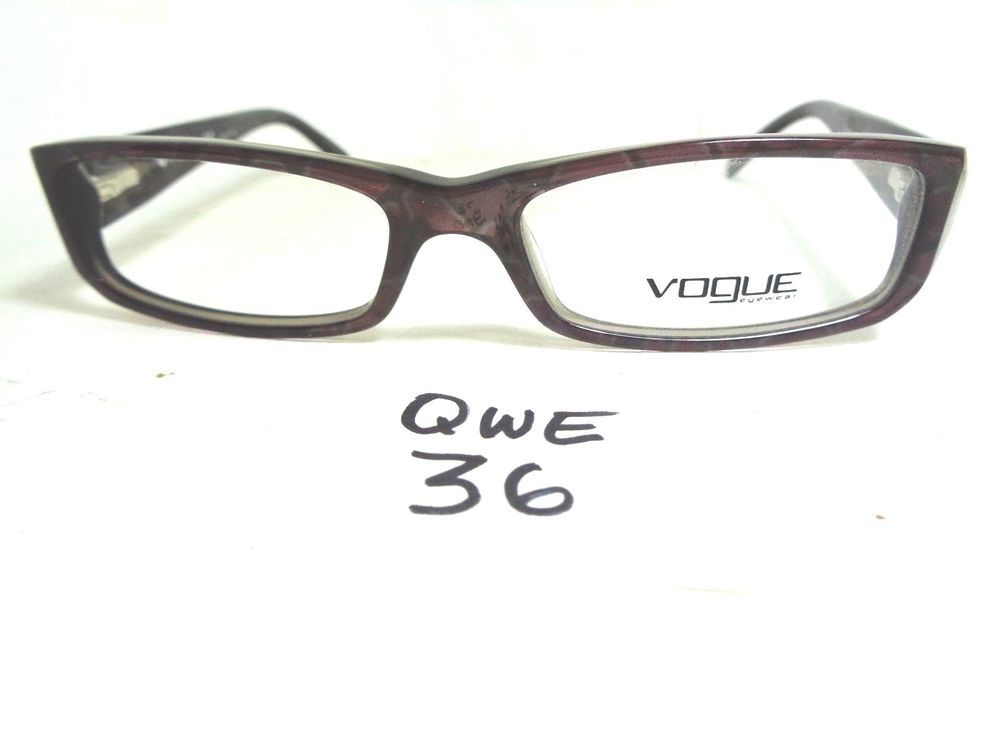 New VOGUE Eyeglasses Frame VO2648 1725 Brown Rectangular (QWE-36)