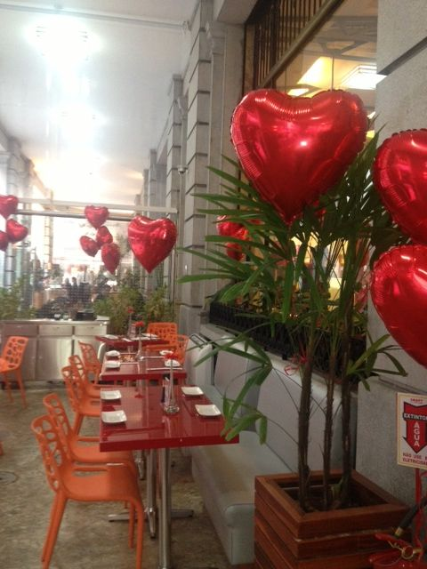 Decoraç u00e3o Restaurante Centro Dia dos Namorados Dia dos Namorados, Decoracao dia dos  # Decoração De Restaurante Para Dia Dos Namorados