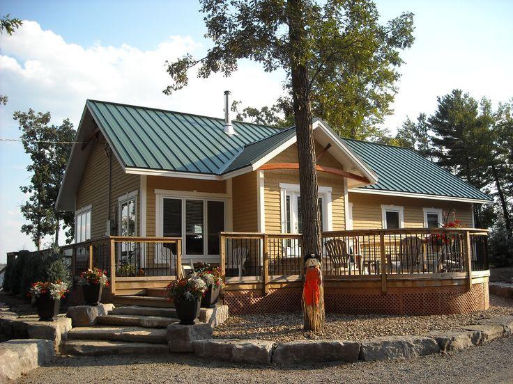 Heritage Series House styles, Steel roofing, Modern rustic