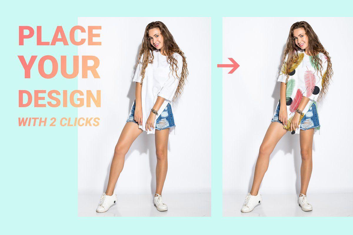 Download Trendy Oversize T Shirt Mockups Clothing Mockup Shirt Mockup Apparel
