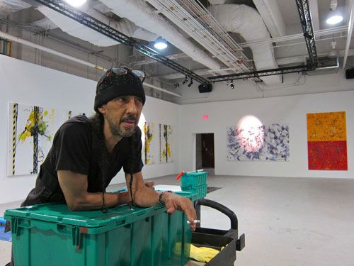 Here is a behind the scene's look at Futura's upcoming monster show in New York City.