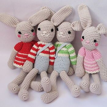 Hand Crochet Bunny Rabbit | Häckeln und Häkeln