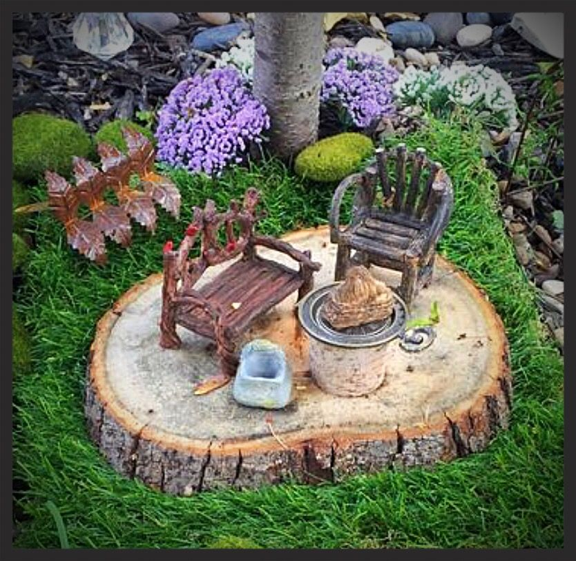 pin by debbie wood adams on my fairy garden pinterest garten fee and miniatur. Black Bedroom Furniture Sets. Home Design Ideas
