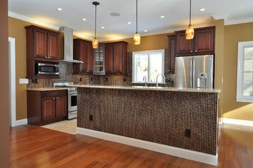 Modular Interiors   Contemporary   Kitchen   Newark   Big Sky Custom Homes