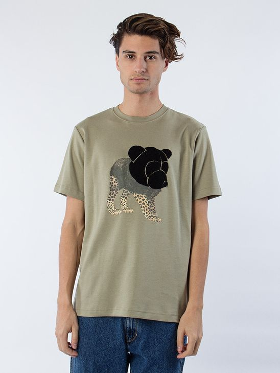 APLACE Tee W Tonsure Teddy  And Print - Tonsure