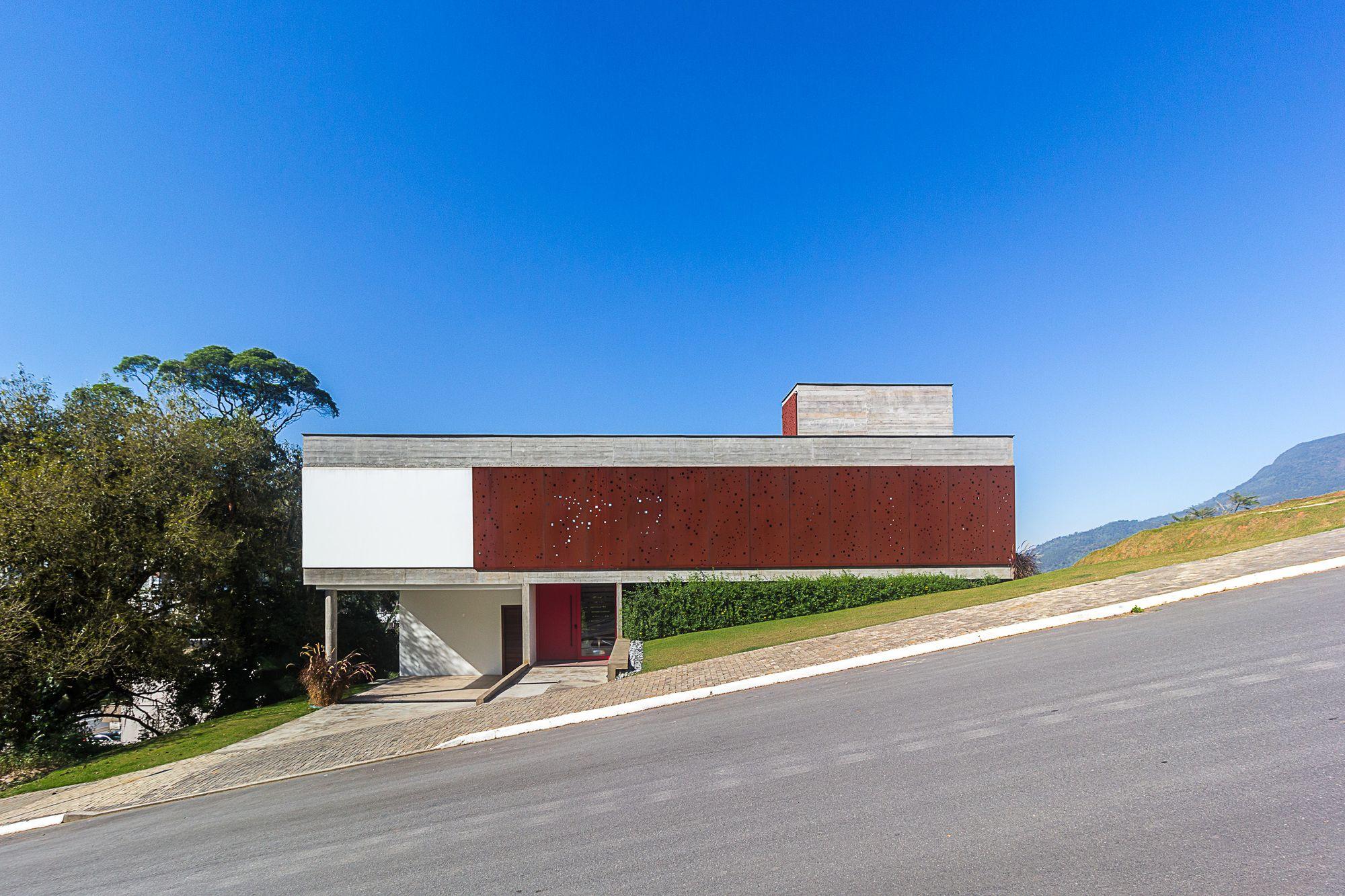 FY House / PJV Arquitetura Concrete houses, Architecture