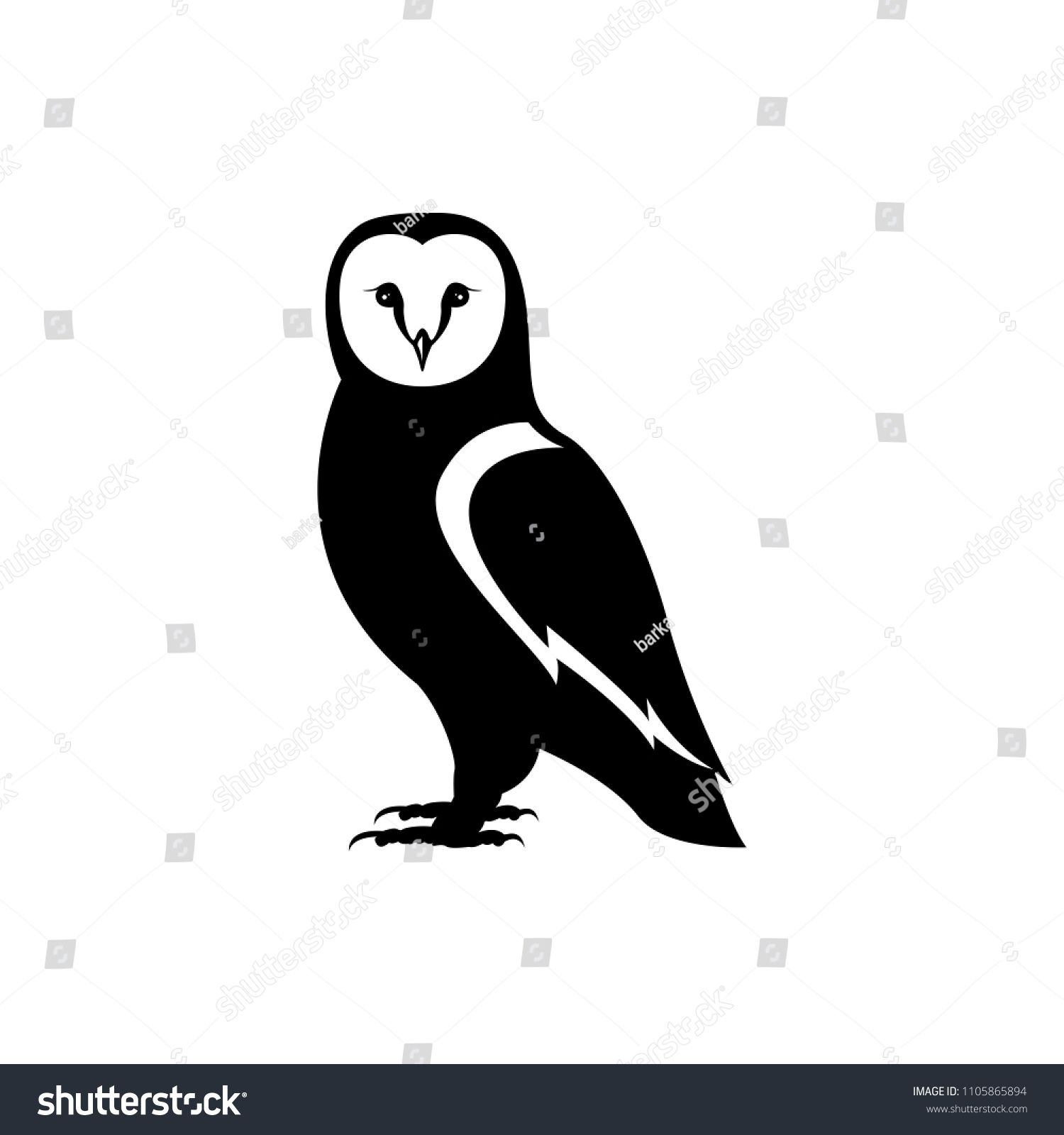 Vector Owl Silhouette Owl Silhouette Owl Images Graphic Design