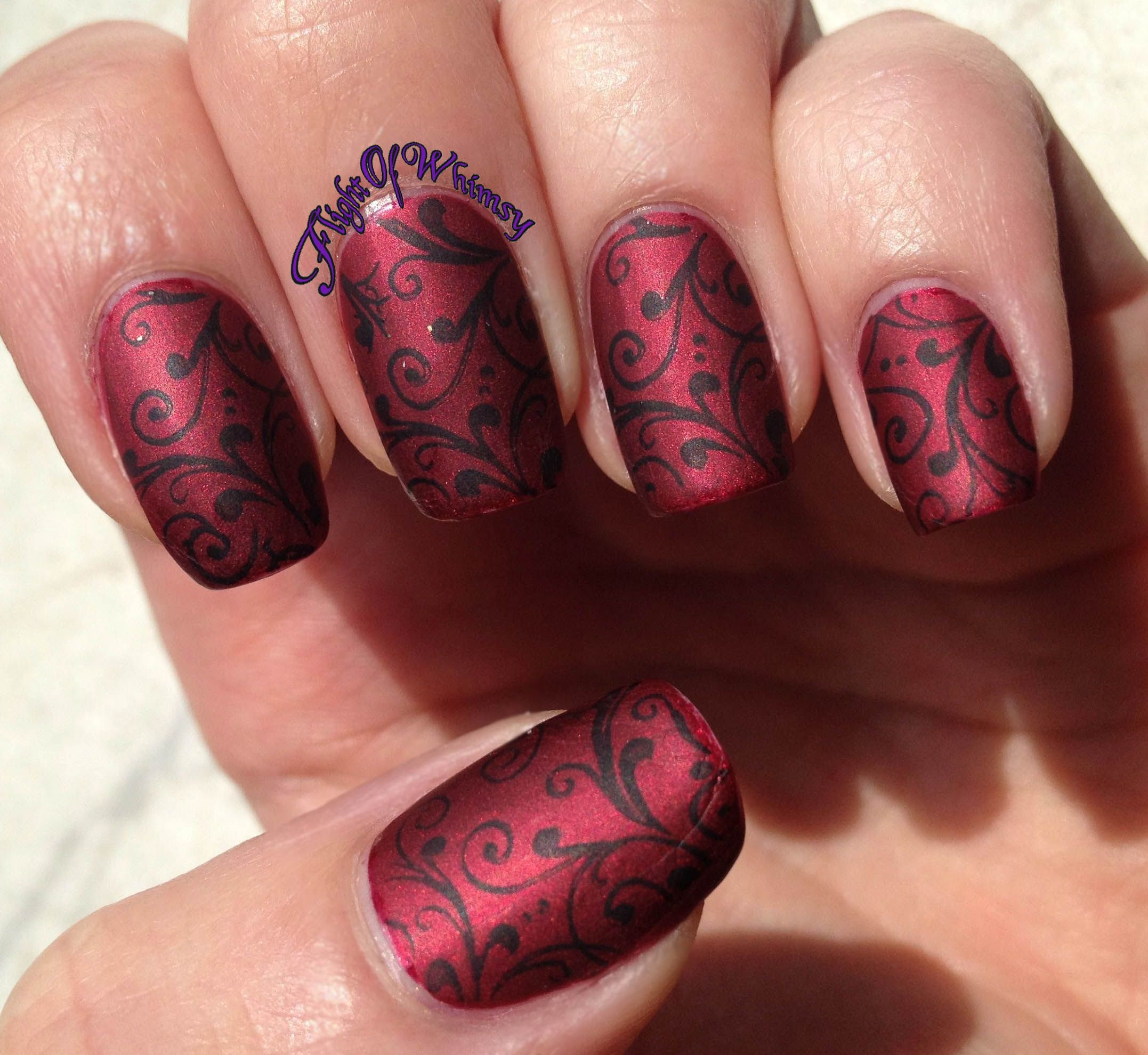 Bilderesultat for dark nail design | Nails (Patterns & Color ...