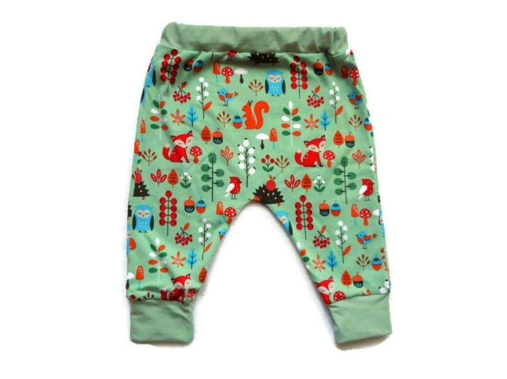 7fd43df440dde Sarouel garçon bébé 12 mois chevaliers et dragons pantalon jersey coton  biologique vert menthe