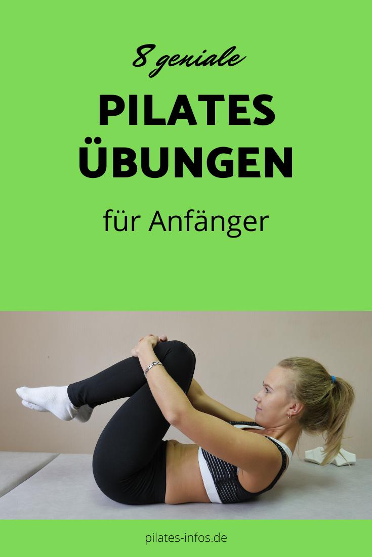 8 geniale Pilates Übungen für Anfänger