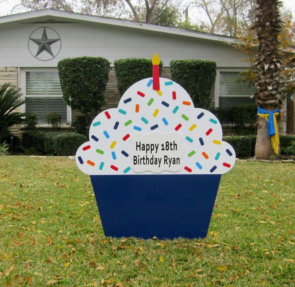 San Antonio Birthday Lawn Signs Birthday yard signs