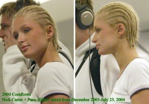 12 Celebrity White Women With Braids And Cornrows Cornrow Hairstyles Cornrows Short Hair Cornrows On White People